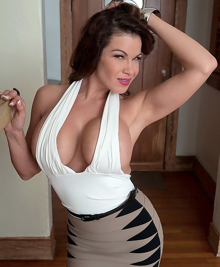 Stunning MILF with incredible big tits